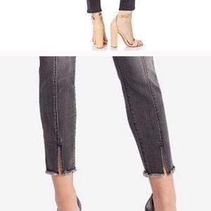 ALL SAINTS Grace front seam mid rise jeans